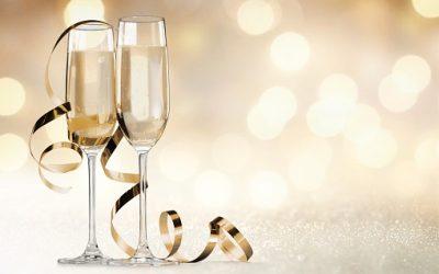À table pour apprécier la recette au champagne